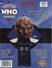 DR WHO MAGAZINE #207 SIGNED EDITION, FREE POSTER, THE TENTH PLANET