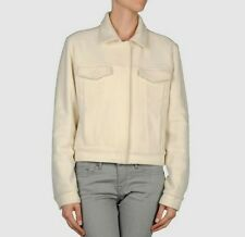 Bnwt Martin Margiela MM6 laine/cachemire manteau court. sz 40.uk 8. 445 £