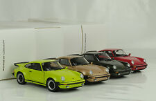 1975 PORSCHE 911 930 Turbo 3.0 Set 4 PC 1:24 Museo-World 10 Euro shipping