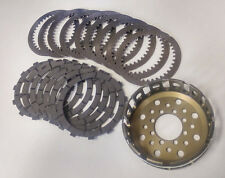 Ducati 748/916/996/998/749/999 clutch Sinter friction plates with basket NEU