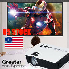 1200Lumen LED Projector HD 1080P 3D Home Theater HDMI/USB/SD Multimedia Player
