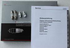Audi A3 8V original LED Leuchten Innenbeleuchtung S3 Innenleuchte Lampen TT 8S
