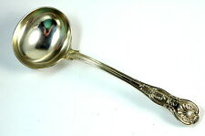 1834 Sterling Silver English Ladle 7 1/8 Inch London William Theobalds