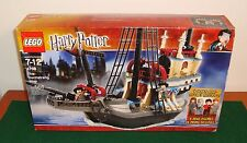 LEGO 4768 - HARRY POTTER GOBLET OF FIRE THE DURMSTRANG SHIP + 4 MINI FIGURES NIB
