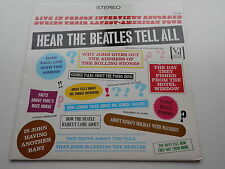 THE BEATLES   HEAR THE BEATLES TELL ALL    UK  PRESSING  CHARLY RECORDS  MINT