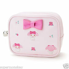SANRIO MY MELODY COSMETIC BAG TOTAL HANDLE EMBROIDERY 790834N