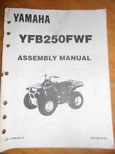 Yamaha Assembly Manual 1994 YFB250 FWF Timberwolf