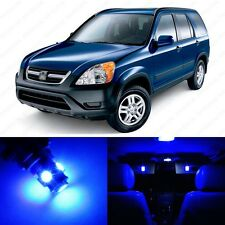 6 x Ultra Blue LED Interior Lights Package For 2002 - 2006 Honda CR-V