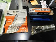 NEW NOS UNICORN IMPACT DRIVER NO. 2500 4 BITS SCREWDRIVER W CASE