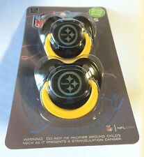 Pittsburgh Steelers GLOW IN THE DARK Baby Infant Pacifiers NEW 2 Pack gift