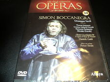 "DVD NEUF ""SIMON BOCCANEGRA"" Collection LES PLUS GRANDS OPERAS N°30"