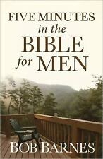 Five Minutes in the Bible for Men, Barnes, Bob, Good Book