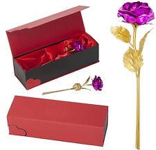 ROSA PINK Goldene Rose Vergoldete Valentinstag Jahrestag Geburtstag Geschenk TOP