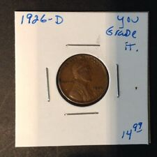 1926-D 1C Lincoln Cent