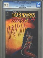 From the Darkness II: Blood Vows #2 CGC 9.6 (1992) CFD Publications Jim Balent