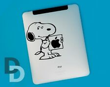 Snoopy Poster iPad decal / Notepad sticker / Tablet decal stencil