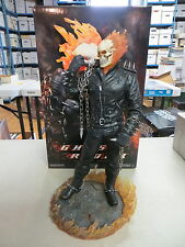 SIDESHOW EXCLUSIVE GHOST RIDER MAQUETTE STATUE MARVEL MET RARE