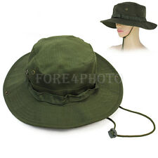 Fashion Combat Army Military Boonie Bush Jungle Sun Hat Cap Hiking Fishing Olive