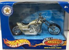 POLICE MOTORCYCLE LAW ENFORCERS HOT WHEELS 1:18 FREE SHIPPING