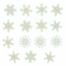 Dress it up buttons **Christmas Snow** great  for cards and crafts