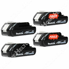 New Makita BL1820 Genuine OEM 18V Li-Ion 2 Pack of Batteries and Get 2 FREE!