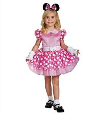 Disguise Minnie Mouse Deluxe Toddler Halloween Costume Large 4-6X W/Measurements