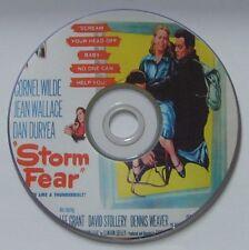 FILM NOIR: STORM FEAR (1955) Cornel Wilde, Jean Wallace, Dan Duryea