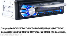 Car Radio CD/DVD/USB/SD/Clock/Remote Control MP3 Player 1 DIN Music Head Unit