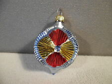 VINTAGE GERMAN CHRISTMAS TREE ORNAMENT BLOWN GLASS