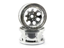 HPI Rock 8 Bead Lock Wheel Chrome (55x36mm/2pcs) 3213