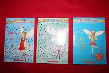 Lot of 3 books, Rainbow Magic, Joy Summer Ruby Red Heather Violet Fairy Meadows