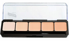 Graftobian HD Glamour Creme Palette, Cool #1, All Skin Types, Cruelty Free