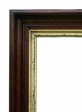 "Large Victorian Walnut Picture Frame, 17 1/2"" X 21 1/2"""