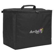 Arriba ATP-19 Padded Stackable Carrying Bag Case w/ 2 Dividers
