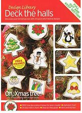 DECK THE HALLS - Cross Stitch 8 page pullout from magazine