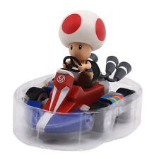 New Super Mario Bros Toad Pull Back Racer Kart Car Kid Toy Gift