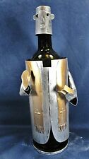 Preacher Spreading the Word Wine Caddy Bar accessory Polished metal
