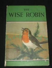 Vintage The Wise Robin By Noel Barr Ladybird Book Series 497 Illustrated