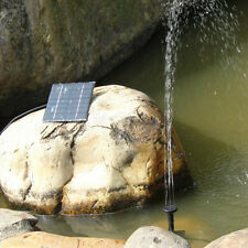 0.8 Watt Solar Power Fountain Pool Pond Water Pump Home Garden Watering Outdoor