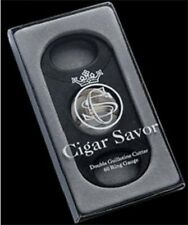 Cigar cutter Stainless Steel Double Guillotine 60 ring gauge by Cigar Savor