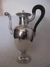 Cafetière argent vieillard 1819 Charles Nicolas ODIOT (french silver coffee pot)