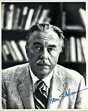 Pulitzer Prize Journalist HARRY S. ASHMORE Signed Photo & Letter