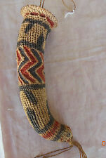 Iatmul tribe Sepik Papua New Guinea decorative koteka penis gourd cover sheath