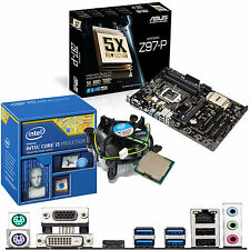 Intel Core i5 4460 3.2 GHz & ASUS z97-p - Scheda madre e CPU Bundle