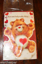 VINTAGE CARE BEARS AMERICAN GREETING CARD LOT OF 6 NEW SEALED 1983 STANDS UP
