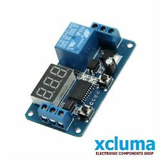 12V DIGITAL LED HOME AUTOMATION DELAY TIMER CONTROL SWITCH MODULE DISPLAY BE0164