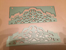 TONIC STUDIOS ART NOUVEAU HEADER DIE CUTTING AND EMBOSSING DIES REDUCED!!!