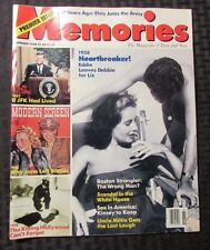 1988 MEMORIES Magazine v.1 #1 VG- Elvis Presley JFK Boston Strangler