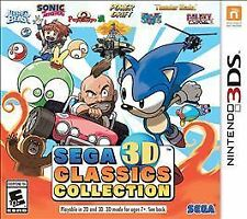 Sega 3D Classics Collection (Nintendo 3DS, 2016) - BRAND NEW