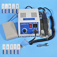 Dental Laboratorio Micromotor Marathon Machine N3 + 35K RPM Handpiece + Burs